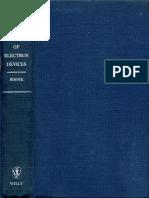 Circuit Theory of Electron Devices E. Milton Boone 1953