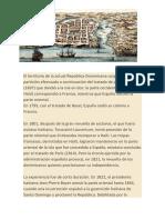 Historia Dominicana Metodologia