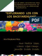 explorando   los  con  los  backyardigans diapositiva  1