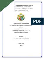 el terreno y la topografia de una edificacion  (monografia)