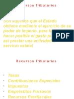 Clase Recursos Tributarios-Presentación