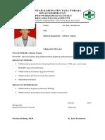 Uraian Tugas Pokok Dokter Umum Di Puskesmas Ulusalu
