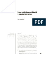 Preservacion Documental Digital y Seguridad Informatica