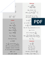 Thermodynamics Equations