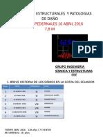 Sismo Pedernales  Ecuador  Final  Mw 7.8  16 04 2016
