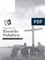 PROGRAMA Escuela Sabatica