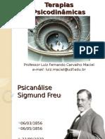 Teorias Psicodinamicas - Psicanalise - Freud - Parte2