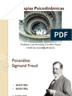 Teorias Psicodinamicas - Psicanalise - Freud - Parte1