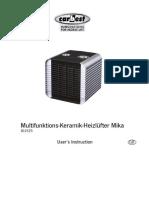 Manual Mika 811525 En