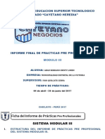 Informe III Iech Municipalidad