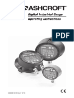 Manual Digital Gauge 2074 2174 2274