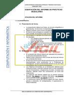 Manual de Presentación Del Informe de Práctica Mddular