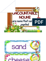 Uncountable Nouns