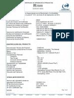 Certificado Calidad_Calefontvivace 7 Lts (1)