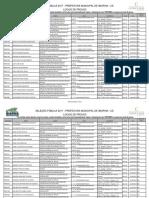 lista de locais Cargos Para o Nível Médio
