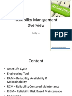 1 Reliability Management Overview