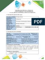 Guía de actividades y rúbrica de evaluación - Paso 2 - Analizar la unidad y diversidad de vida.pdf