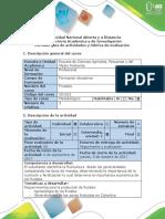 Guía de Actividades y Rúbrica de Evaluación - Fase 2 - Desarrollar La Investigación Agroclimatológica de La Zona