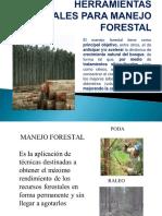 Herramientas Manuales Para Manejo Forestal