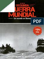 Segunda Guerra Mundial Un Mundo en Llamas - Fuego en Le Desierto - Tomo 9