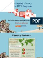 Developing Literacy in OSY Programs