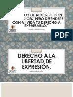 Derecho A la libre expresion.pptx