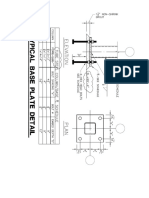 Typical Base Plate Details