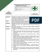 Sop Identifikasi Dan Pelaporan Kesalahan Pemberian Obat Dan KNC
