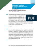 Duarte, H. D. O. (2012) Análise Quantitativa de Risco de Uma URE