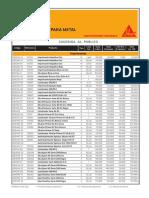 9. Lista Publico Metal Febrero 2016.