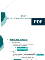 1_Physical Quantities and Measurements