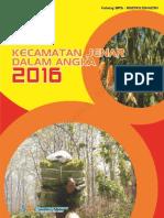 Kecamatan Jenar Dalam Angka 2016