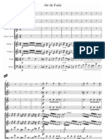 Gluck Dance of the Furies Score and Parts