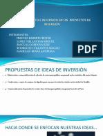 Financiamiento e Inversion