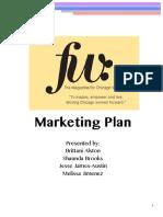 FW Marketing Plan