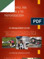 Clase PNUD 9 de Diciembre La Historia y La Historizaci n