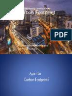 Presentasi Carbon Footprints