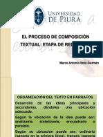 Semana 12 y 13 Proceso de Composición de Un Texto- Etapa de Redacción y Revisión
