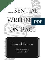 Essential Writings on Race - Samuel T. Francis