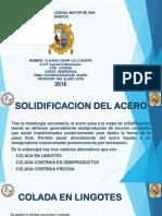 Licla - Solidificacion Del Acero
