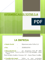 Hipermercados Tottus s.A