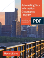 Automating Your Information Governance Program
