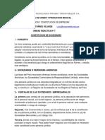 Unidad 7 Constitucioncione Scritura Sunarp