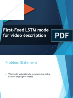 LSTM First Feed Machine Learning