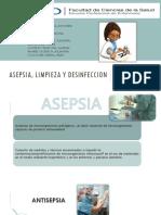 Asepsia Limpieza y Desinfeccion