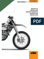 2013 KTM 350 EXC shop-repair Manual