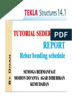11. Rebar Bending Schedule