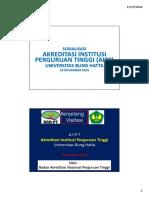 Sosialisasi AIPT 29 November 2016