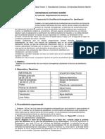 Laboratorio#3 Separacion de Mezcla Homogenea Por Destilacion
