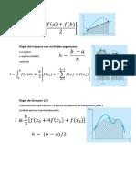 Metodos de Integracion Numérica